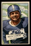 1952 Bowman Small #115  Keith Flowers  Front Thumbnail