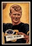 1952 Bowman Small #132   Chuck Ortmann Front Thumbnail
