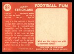 1958 Topps #99   Larry Strickland Back Thumbnail