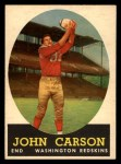 1958 Topps #47   John Carson Front Thumbnail