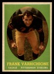 1958 Topps #77   Frank Varrichione Front Thumbnail