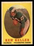 1958 Topps #108  Ken Keller  Front Thumbnail