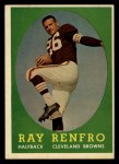 1958 Topps #17   Ray Renfro Front Thumbnail