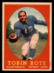 1958 Topps #94  Tobin Rote  Front Thumbnail
