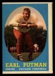 1958 Topps #88  Earl Putman  Front Thumbnail