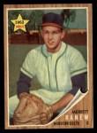 1962 Topps #156 GRN Merritt Ranew  Front Thumbnail
