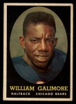 1958 Topps #114   Willie Galimore Front Thumbnail
