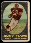 1958 Topps #62  Jim Brown  Front Thumbnail