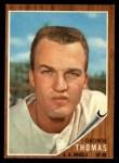 1962 Topps #525   George Thomas Front Thumbnail