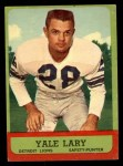 1963 Topps #33  Yale Lary  Front Thumbnail