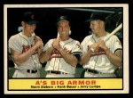 1961 Topps #119  A's Big Armor  -  Norm Siebern / Hank Bauer / Jerry Lumpe Front Thumbnail
