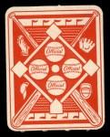 1951 Topps Red Back #10   Mel Parnell Back Thumbnail