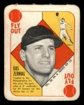 1951 Topps Red Back #36 PHL Gus Zernial  Front Thumbnail