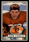 1951 Bowman #141  Norm Standlee  Front Thumbnail