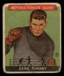 1933 Goudey Sport Kings #18   Gene Tunney  Front Thumbnail