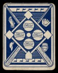 1951 Topps Blue Back #1   Eddie Yost Back Thumbnail