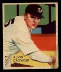 1935 Diamond Stars #93   Alvin General Crowder  Front Thumbnail