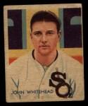 1935 Diamond Stars #51   Burgess Whitehead Front Thumbnail
