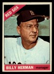 1966 Topps #37   Billy Herman Front Thumbnail