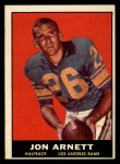 1961 Topps #49   Jon Arnett Front Thumbnail