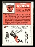 1966 Topps #117  Harry Schuh  Back Thumbnail