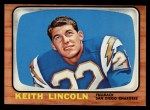 1966 Topps #127   Keith Lincoln Front Thumbnail