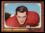 1966 Topps #62  Fred Arbanas  Front Thumbnail