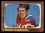 1966 Topps #43  Mickey Slaughter  Front Thumbnail