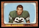 1966 Topps #1   Tom Addison Front Thumbnail