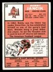1966 Topps #58  Bobby Jancik  Back Thumbnail
