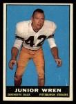 1961 Topps #111  Junior Wren  Front Thumbnail