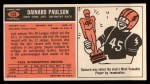 1965 Topps #123   Dainard Paulsen Back Thumbnail