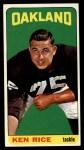 1965 Topps #148   Ken Rice Front Thumbnail
