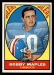 1967 Topps #53  Bobby Maples  Front Thumbnail