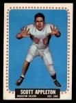1964 Topps #66  Scott Appleton  Front Thumbnail