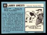 1964 Topps #81  Larry Onesti    Back Thumbnail