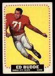 1964 Topps #93  Ed Budde  Front Thumbnail