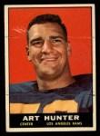 1961 Topps #53   Art Hunter Front Thumbnail