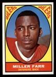 1967 Topps #44   Miller Farr Front Thumbnail