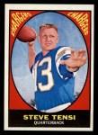 1967 Topps #119  Steve Tensi  Front Thumbnail