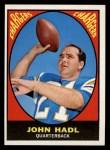1967 Topps #120  John Hadl  Front Thumbnail