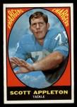1967 Topps #118   Scott Appleton Front Thumbnail