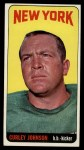 1965 Topps #119   Curley Johnson Front Thumbnail