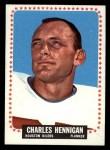 1964 Topps #75  Charlie Hennigan  Front Thumbnail