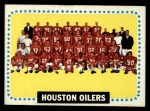 1964 Topps #88   Houston Oilers Front Thumbnail