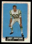 1964 Topps #113   Larry Grantham Front Thumbnail