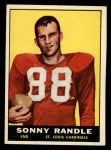 1961 Topps #118   Sonny Randle Front Thumbnail