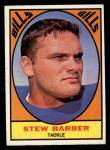 1967 Topps #18   Stew Barber Front Thumbnail