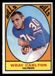 1967 Topps #19  Wray Carlton  Front Thumbnail