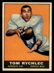 1961 Topps #164   Tom Rychlec Front Thumbnail